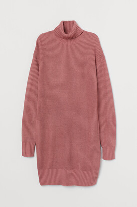 H&M Knit Turtleneck Dress