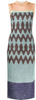 Missoni Zigzag colour block dress