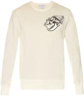 Alexander McQueen Tiger skull-print jersey sweatshirt