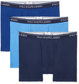 Ralph Lauren Cotton Boxer Brief 3-pack