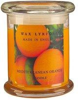 George Wax Lyrical Small Jar Candle- Mediterranean Orange