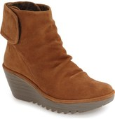 Fly London 'Yegi' Slouchy Platform Wedge Bootie (Women)