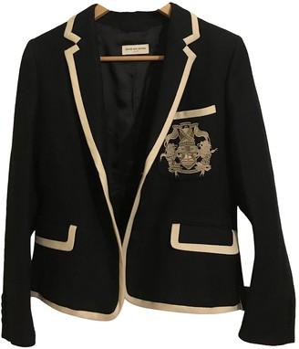 Dries Van Noten Navy Wool Jackets