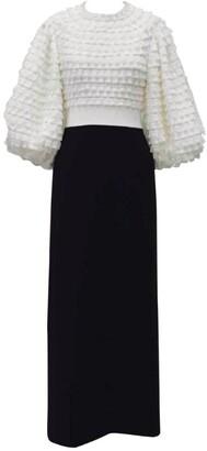 Huishan Zhang Colette Puff-Sleeved Dress