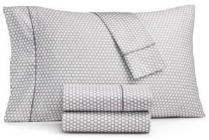 Sunham Fairfield Square Collection Waverly 450 Thread Count Cotton 4-Pc. Queen Extra Deep Pocket Sheet Set Bedding