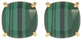 Ariella Collection Semi Precious Stud Earrings