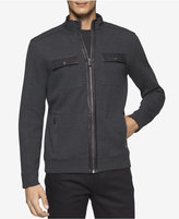 Calvin Klein Men's French Ribbed Jacket