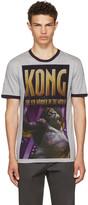 Dolce & Gabbana Grey 'King Kong' T-Shirt