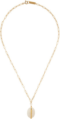 Isabel Marant Gold Stone Necklace