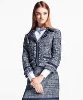 Brooks Brothers Petite Shimmer Boucle Jacket