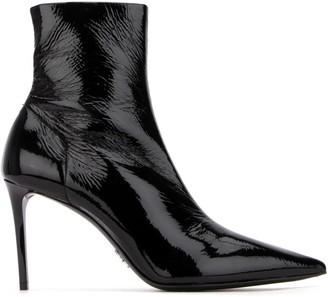 Prada Pointed Toe Stiletto Boots
