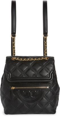 Tory Burch Fleming Soft Quilted Leather Mini Backpack