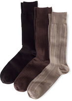 Polo Ralph Lauren Big & Tall Assorted Patterned Sock 3-Pack