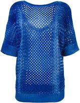 Agnona cashmere knit top