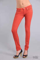 Skinny Classique Jeans in Orange