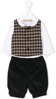 La Stupenderia checkered waist coat set