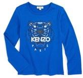 Kenzo Graphic Tiger Tee (Toddler Girls, Little Girls & Big Girls)
