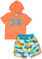 WIPPETE Wippette 2-pc. Shark Swim Trunk Set - Baby Boys newborn-24m