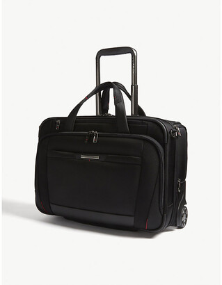 "Samsonite Pro-Dlx 5 2-wheel 15.6"" laptop briefcase"