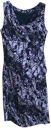 Andrew Marc Burgundy Silk Dress for Women