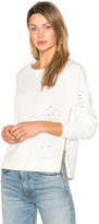 Central Park West Savannah Distressed Sweater