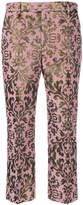 Pt01 Cara jacquard croppes trousers