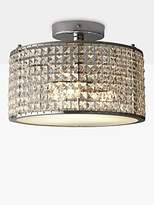 Illuminati Victory Crystal Bathroom Semi-Flush Light