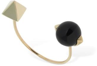 Peruffo Pierced Open Onyx Ring