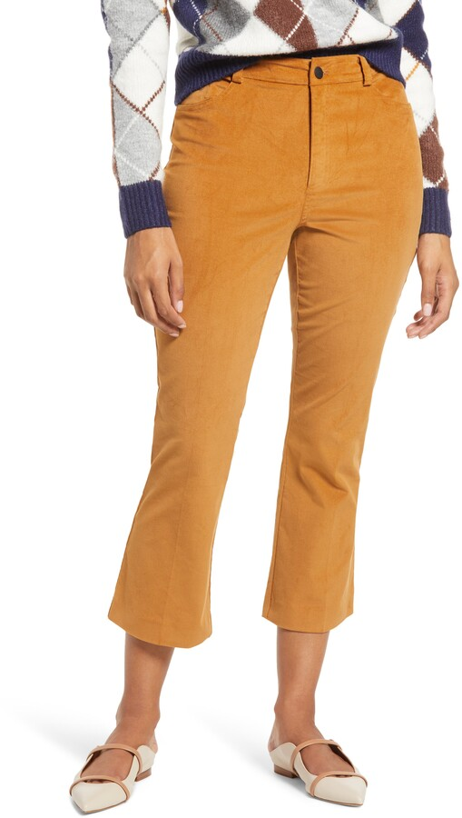 Halogen x Atlantic-Pacific Velveteen Kick Flare Pants