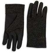 Black Brown 1826 Knit Tech Gloves