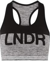 LNDR - Cadet Stretch Sports Bra - Gray