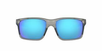 Oakley Men's Mainlink Non-Polarized Iridium Rectangular Sunglasses