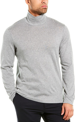 Theory Air Cashmere-Blend Funnel T-Shirt