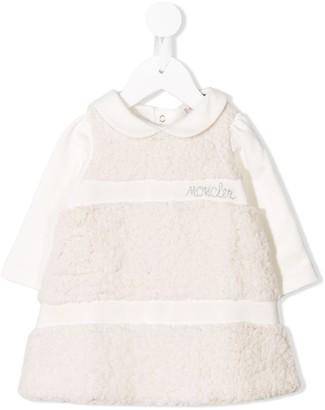 Moncler Enfant Short Shearling Dress