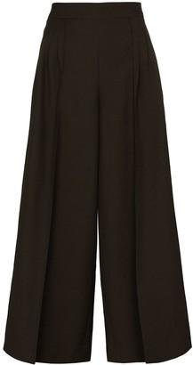 Loewe Wide-Leg Wool Culottes