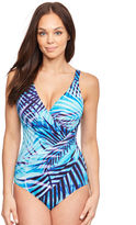 Miraclesuit Palm Reader Oceanus Soft Cup Firm Control Swimsuit