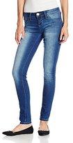 YMI Jeanswear Juniors Wannabettabutt Super-Soft Skinny Jean