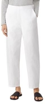 Eileen Fisher Organic Ankle-Length Pants