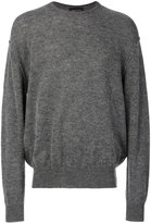Roberto Collina crew neck jumper - men - Nylon/Alpaca/Merino - 46