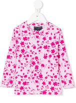 Oscar De La Renta Kids - floral print top - kids - Polyester/Spandex/Elastane - 4 yrs
