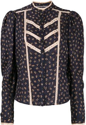 Etoile Isabel Marant lace trim Reafi blouse
