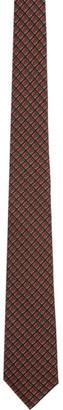 Burberry Red Silk Manston Tie