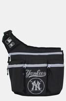 Diaper Dude Infant 'New York Yankees' Messenger Diaper Bag - Black
