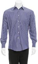 Gucci Pinstripe Button-Up Shirt