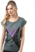 Firetrap Womens Slouch T-Shirt Balsam Green