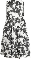 Thakoon Strapless cotton and silk-blend jacquard dress