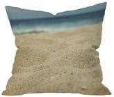DENY Designs Leah Flores Sandy Beach Outdoor Throw Pillow