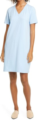 Eileen Fisher Organic Cotton T-Shirt Dress