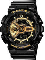 G-Shock Duo Glossy,W/Time,S/Watch, Super Led, Gld Trim On Face