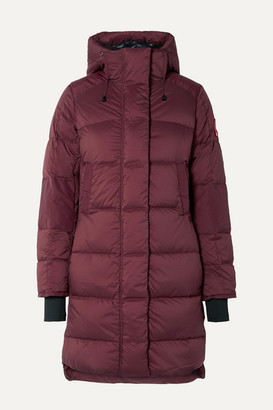Canada Goose Alliston Hooded Quilted Shell Down Coat - Plum